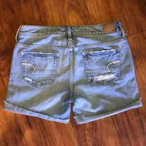 American Eagle Outfitters Shorts - AE Distressed midi shorts